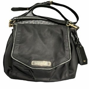 Juicy Couture Canvas Leather Crossbody